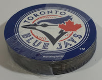 "Mustang MLB Toronto Blue Jays Baseball Team 4"" Diameter Drink Coasters Set of 12"