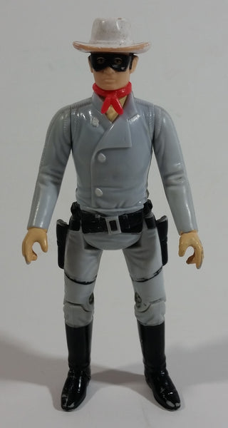 "Vintage 1980 LR TV Inc The Legend of The Lone Ranger Character 3 3/4"" Tall Toy Action Figure - Hong Kong"
