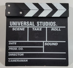 1990s Universal Studios Movie Film Director's Wood Wooden Clapboard Clapper
