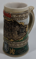 1990 Ceramarte Coors Brewing Company 1935 Print Advertisement Hand Painted Ceramic Beer Stein Made in Brazil