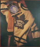 "Maple Leaf Gardens Toronto Maple Leafs Official Programme 15 3/4"" x 17 1/8"" Ice Hockey Arena Print Sports Collectible"