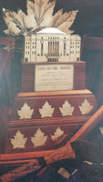 "Maple Leaf Gardens Toronto Maple Leafs Official Programme 15 3/4"" x 17 1/8"" Ice Hockey Conn Smythe Trophy MVP Most Valuable Player Print Sports Collectible"