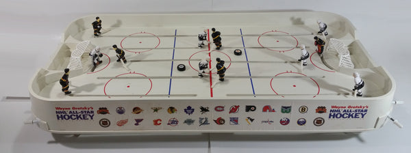 1990s Buddy L Wayne Gretzky NHL All Stars Deluxe Edition Table Hockey Game Vancouver Canucks Vs. Los Angeles Kings - Complete