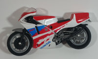 Honda NSR Motorcycle Street Bike 1:18 Scale Plastic and Die Cast Toy Vehicle