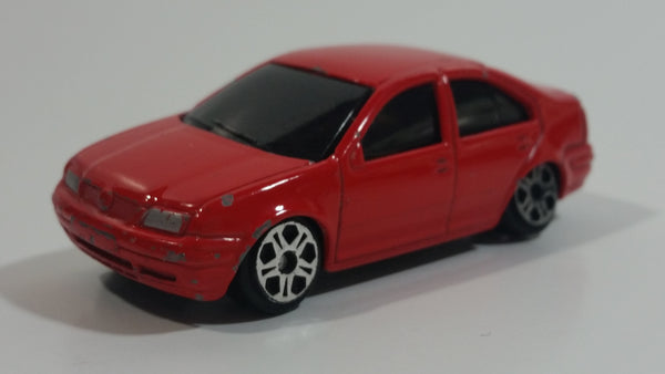 Maisto Volkswagen Jetta Red Die Cast Toy Car Vehicle