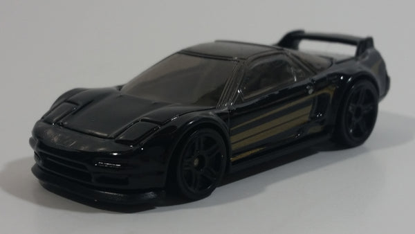 2017 Hot Wheels Nightburnerz '90 Acura NSX Black Die Cast Toy Car Vehicle