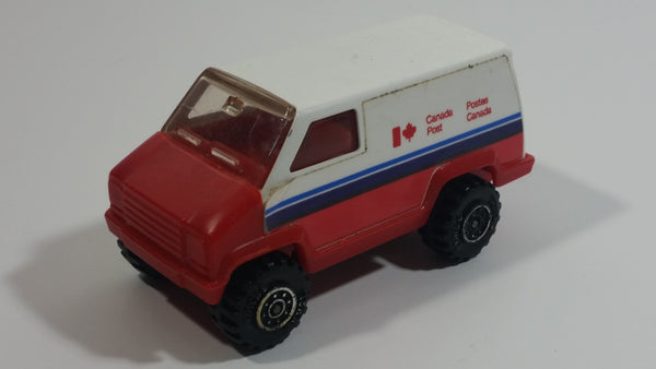 Vintage 1978 Tonka Scramblers Canada Post Delivery Van Pressed Steel Toy Car Vehicle