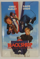"1995 Paramount Pictures Black Sheep ""There's one in every family."" Chris Farley David Spade Promotional Movie Film Pin"