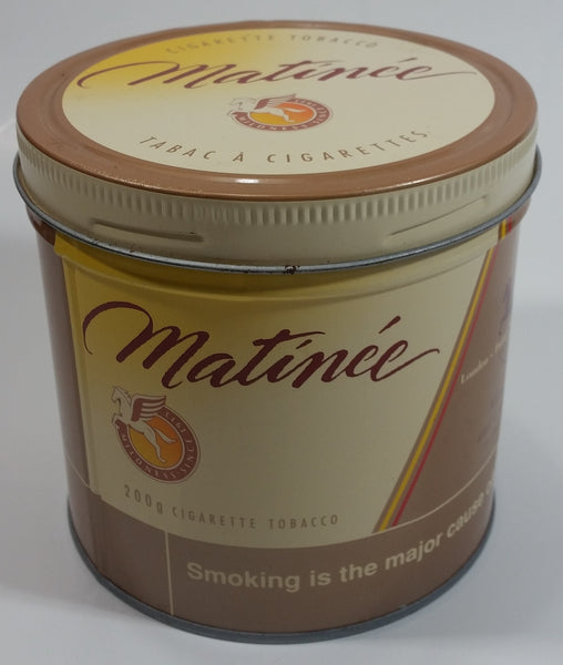 Vintage Matinee Cigarette Tobacco Tin with Lid - Allan Ramsay and Company