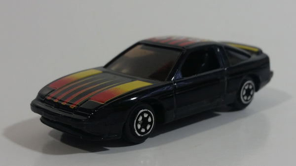 Yatming Nissan 240SX Black No. 808 Die Cast Toy Car Vehicle