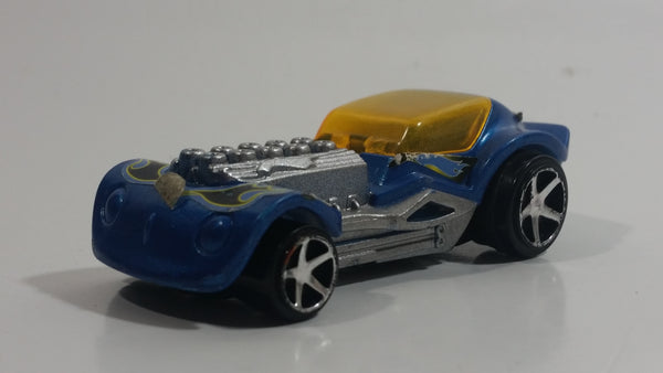 2008 Hot Wheels Dieselboy Blue Plastic Toy Car Vehicle McDonald's Happy Meal