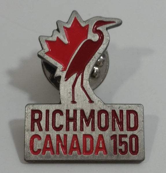 Richmond Canada 150 Crane Bird Themed Metal Lapel Pin