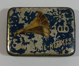 Antique Made in Germany 200 Gramophone Needles Small Hinged Tin Metal Container Empty