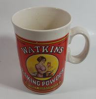 1992 Watkin's Heritage Collections Baking Powder Purity Guaranteed Ceramic Coffee Mug Cup