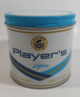 Vintage Player's Light Navy Cut 200g Tobacco Tin Can Metal Canister