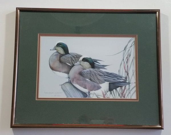 "Ducks Unlimited Artist - Art Lamay ""Whimsical Wigeons"" Framed Print"