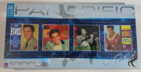 2007 Sure-Lox EPE Legends Panorific Elvis Presley 1000 Piece Puzzle Brand New in Box Factory Sealed