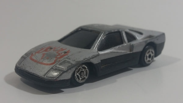 Unknown Brand Grey Sports Car Die Cast Toy Car Vehicle Made in China