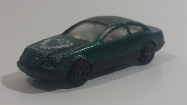 Unknown Brand Dark Green Sports Car A.D Die Cast Toy Car Vehicle Made in China