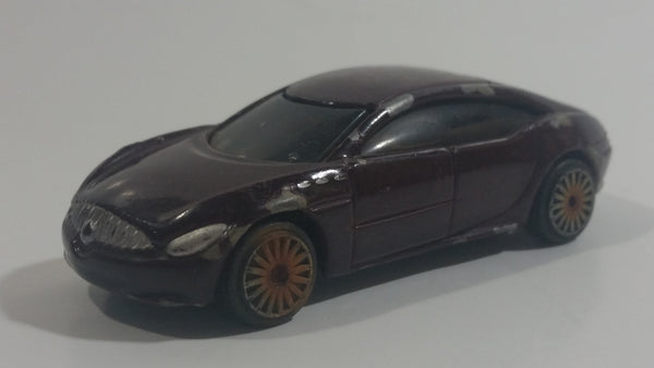 Maisto Buick Lacrosse Purple Maroon Burgundy Die Cast Toy Car Vehicle