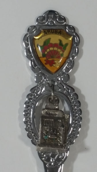 Aruba Slot Machine Charm Spoon Souvenir Travel Collectible