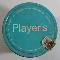 Vintage Early 1970s Player's Navy Cut Cigarette Tobacco 200g Blue Tin Can