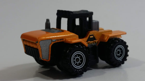 2015 Matchbox Farm Acre Maker Orange and Black Die Cast Toy Car Vehicle