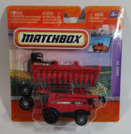 2010 Matchbox Case IH Combine Harvester 7088 AF8 Axial Flow Red Die Cast Toy Car Farm Vehicle New in Package