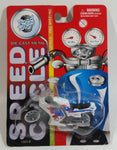 Vintage Yatming Road Tough Speed Cycle No. 1331-6 Motorcycle Street Bike White Die Cast Toy Car Vehicle New in Package