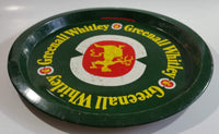 Rare Vintage Greenall Whitley Beer Metal Serving Tray - Made in England