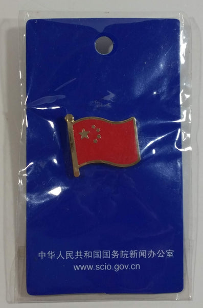 China Chinese Flag Enamel Metal Pin