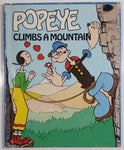 Vintage 1983 Wonder Books Popeye Climbs a Mountain by Charles Spain Verral