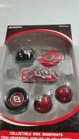 Trevco NASCAR #8 Dale Earnhardt Jr. Collectible Mini Ornaments Christmas Tree Decorations New in Box
