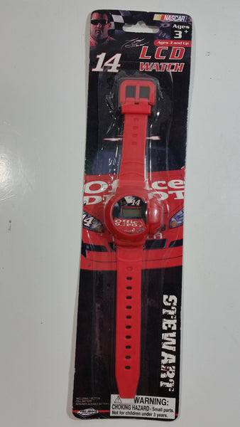 2009 Pro Image Sports Marketing NASCAR #14 Tony Stewart Office Depot Red LCD Watch New in Package