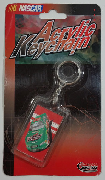 2001 Action Sports Image NASCAR #18 Bobby Labonte Interstate Batteries Acrylic Keychain New in Package