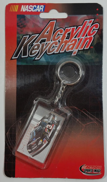 2001 Action Sports Image NASCAR #3 Dale Earnhardt GM Goodwrench Acrylic Keychain New in Package