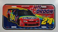 1998 J.G. Motorsports Hendrick Motorsports NASCAR 50th Anniversary #24 Jeff Gordon DuPont Plastic Vehicle License Plate Tag