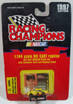 1997 Racing Champions NASCAR #36 Todd Bodine Stanley Pontiac Grand Prix Yellow 1/144 Scale Tiny Micro Die Cast Toy Race Car Vehicle with Collector Card and Display Stand - New in Package Sealed