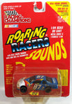 1997 Racing Champions NASCAR Roaring Racers Sounds #87 Joe Nemechek Bell South Chevrolet Monte Carlo White Blue Die Cast Toy Race Car Vehicle - New in Package Sealed