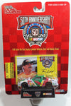 1998 Racing Champions NASCAR 50th Anniversary #5 Terry Labonte Kellogg's Chevrolet Monte Carlo White Red Green Yellow Die Cast Toy Race Car Vehicle with Collector Card and Display Stand - New in Package Sealed