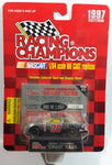 "1997 Racing Champions ""Chase"" Cars NASCAR #30 Johnny Benson Pennzoil Pontiac Grand Prix Chrome Die Cast Toy Race Car Vehicle with Collector Card and Display Stand - New in Package Sealed"