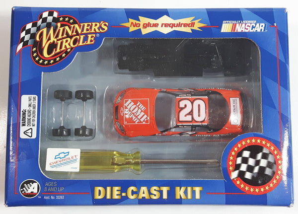 2003 Action Racing NASCAR Winner's Circle #20 Tony Stewart The Home Depot Chevrolet Monte Carlo Orange Die Cast Toy Race Car Vehicle Kit New in Box