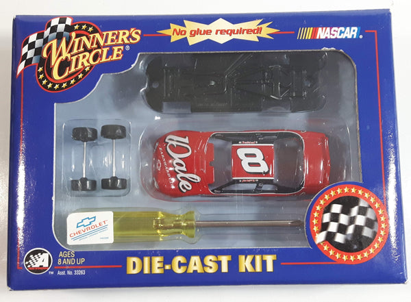 2002 Action Racing NASCAR Winner's Circle #8 Dale Earnhardt Jr. Chevrolet Monte Carlo Red Die Cast Toy Race Car Vehicle Kit New in Box