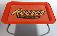 Rare 1990s Reese's Milk Chocolate Peanut Butter Cups Folding Television Snacks Tray