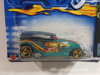 2002 Hot Wheels Cold Blooded Phaeton Metalflake Teal Die Cast Toy Car Vehicle New in Package