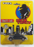 1990 Ertl The Walt Disney Company Dick Tracy 1936 Ford Black Die Cast Toy Character Car Vehicle New in Package