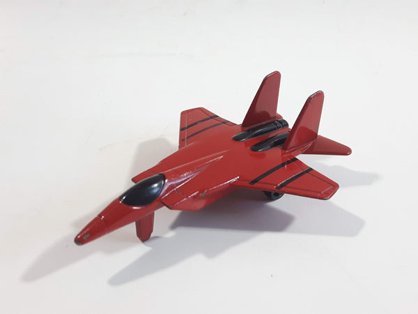 Fighter Jet Army Red Die Cast Toy Airplane Aircraft Vehicle