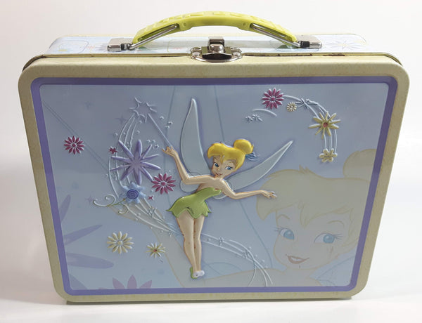 Disney Tinkerbell Embossed Tin Metal Lunch Box