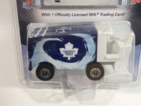 2007 Upper Deck Collectibles Toronto Maple Leafs Zamboni Ice Resurfacer Die Cast Toy Car Vehicle with Mats Sundin Trading Card - New in Package