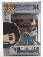 Funko Pop! Television #524 Bob Ross The Joy of Painting Toy Collectible Vinyl Figure in Box